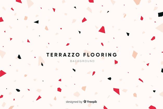 Абстрактная текстура пола предпосылки terrazzo