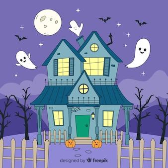 Потрясающий ручной дом с привидениями