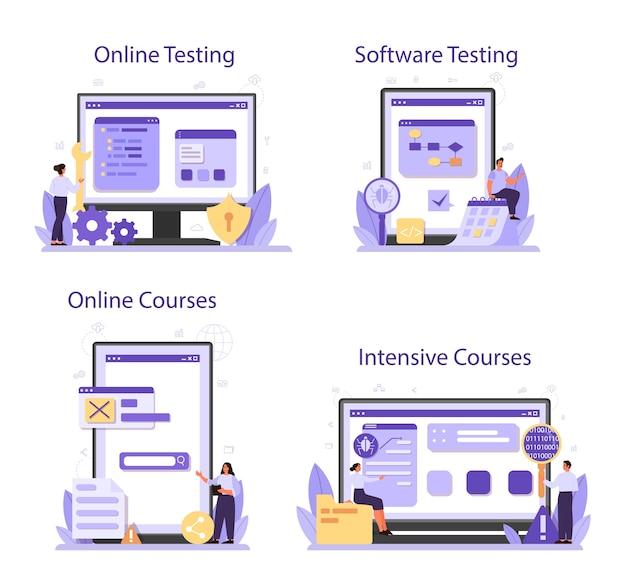 Онлайн-сервис или платформа для тестирования программного обеспечения