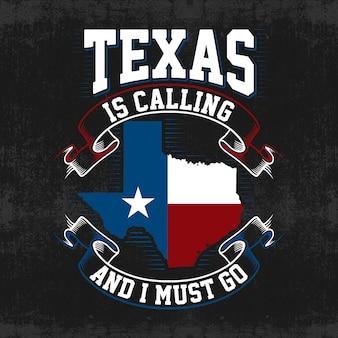 テキサスマップベクトルの背景