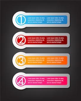 Text box, banner infographics.
