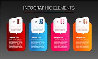 Text box template , banner Infographics