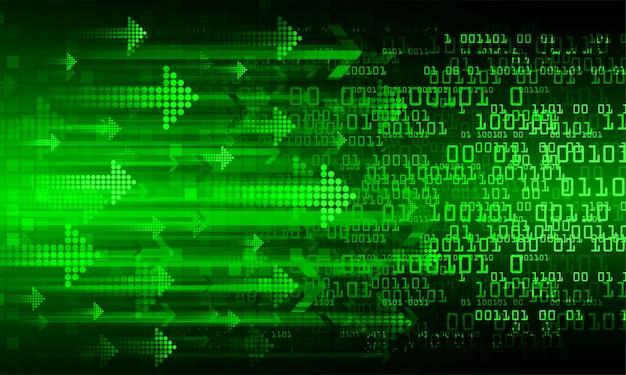 Текст кибер цепи будущей технологии концепции фон