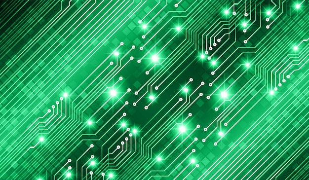 Text cyber circuit future technology concept background