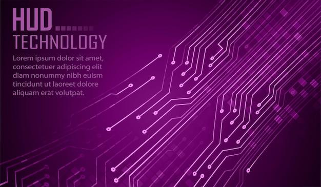 テキストサイバー回路の将来の技術概念の背景