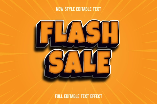 Text effect 3d flash sale color purple and pink gradient