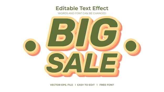 Text effect big sale