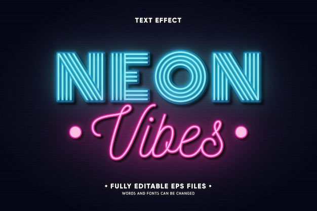 Text effect concept