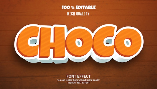 Text effect for cool futuristic effect , editable font effect