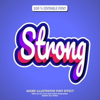 Text effect for cool futuristic effect
