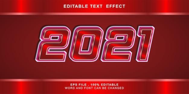 Text effect editable illustration