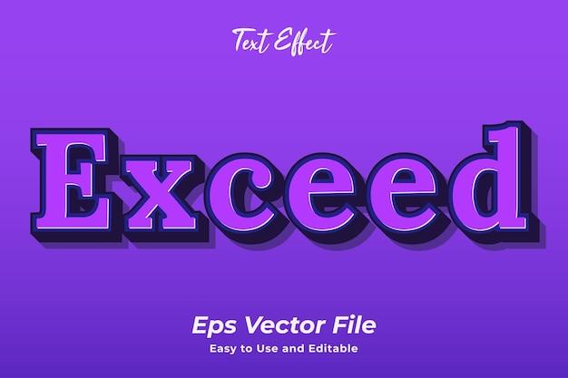 텍스트 효과는 편집 가능하고 사용하기 쉬운 프리미엄 벡터를 초과합니다.