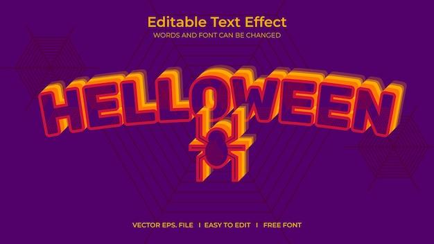 Text effect helloween