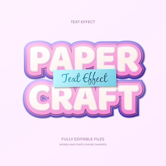 Text effect lettering concept