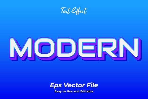 テキスト効果モダン編集可能で使いやすいプレミアムベクター