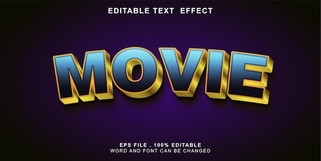 Text-effect-movie