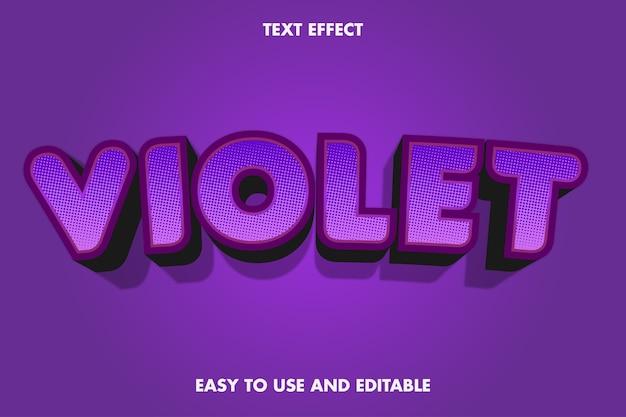 Text effect - violet.