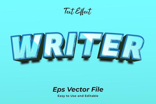 Текстовый эффект вода редактируемый эффект типографии