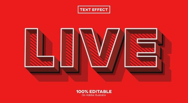 Текстовый эффект