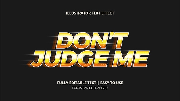 Text in speed effect editable