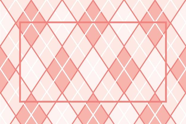 Textile pattern frame