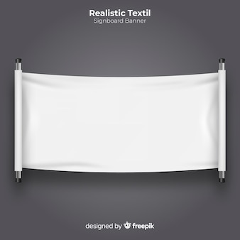 Textile signboard banner