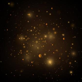 Текстура фон абстрактный черный и белый или серебристый блеск и элегантный. пыль белая. сверкающие магические частицы пыли. магическая концепция. абстрактный фон с эффектом боке.