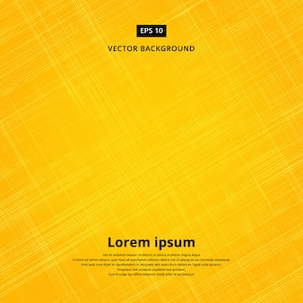 Texture background of yellow fabric Vector illustration