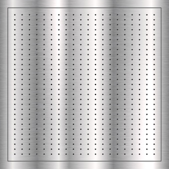 Texture background with a silver brushed metal design