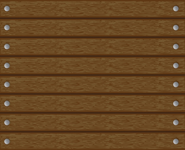 Texture, background, wood with nails