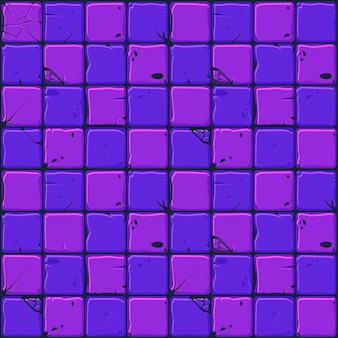 Texture of neon stone tiles, seamless background stone wall.