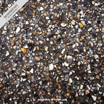 Текстура из мелких камней