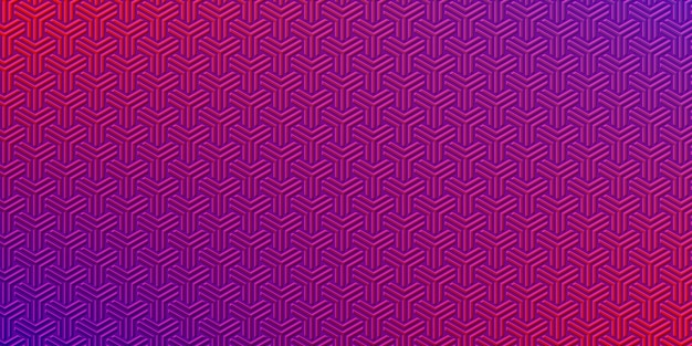 Textured abstract pattern with purple and red color competition.