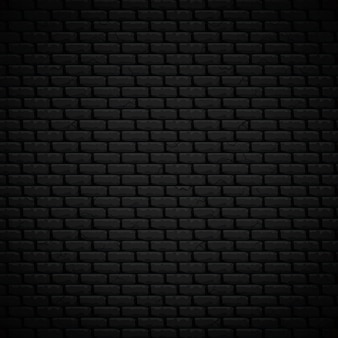 Textured background realistic dark bricklaying wall vector illustration
