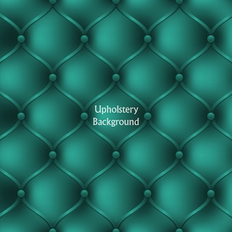Textured background of turquoise leather upholstery furniture