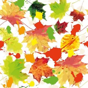 Осенний фон textureseamless узор