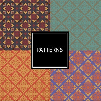 Thai fabric patterns