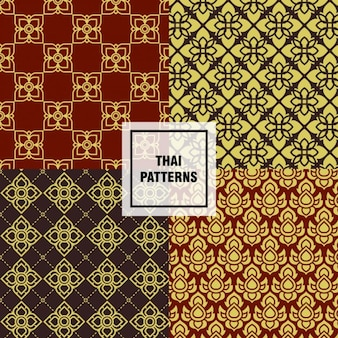 タイのパターンが設定され