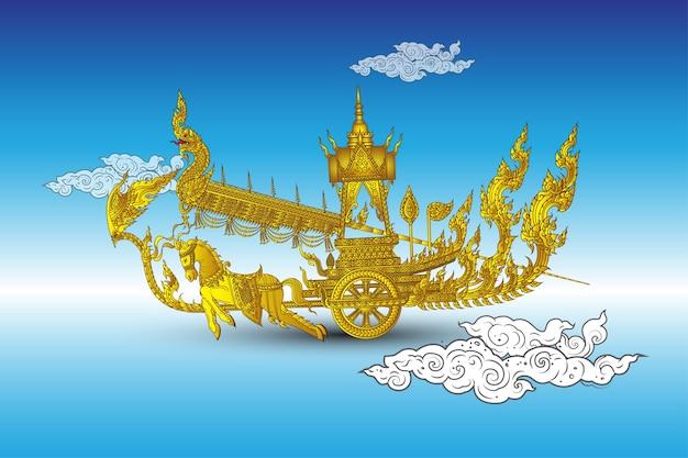 Thai royal court rocket fastival