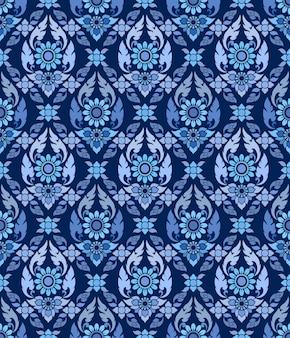 Thai tradition art pattern for wallpaper