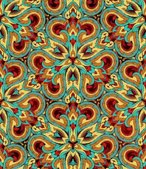 Thai traditional ethnic art abstract