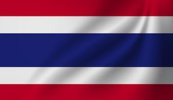 Thailand flag symbol