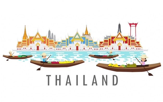 Thailand land of smile.