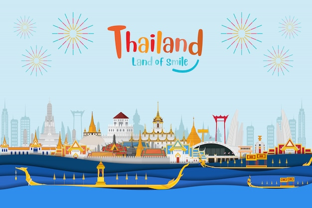 Thailand travel background