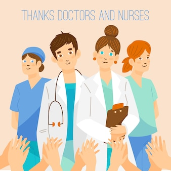 Thank you doctors and nurses for your help
