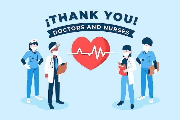 Thank you nurses and doctors