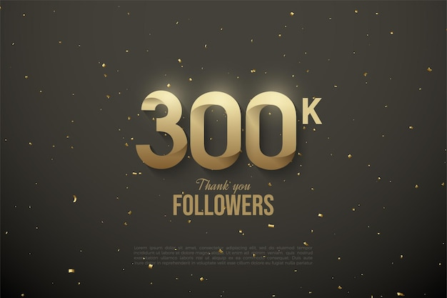 Thank you so much 300k followers with soft patterned illustrations.