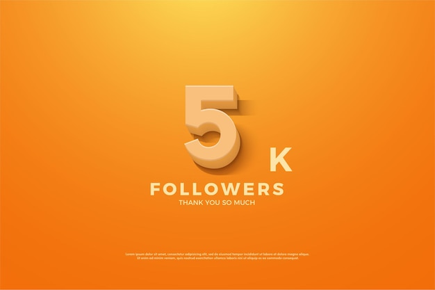 Thank you so much 5k followers with animated figures.