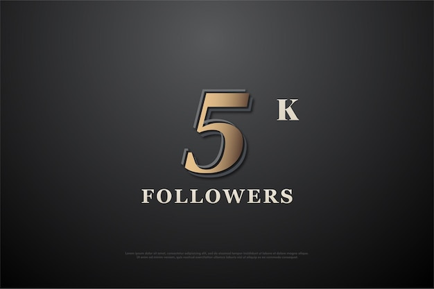Thank you so much 5k followers with unique number.