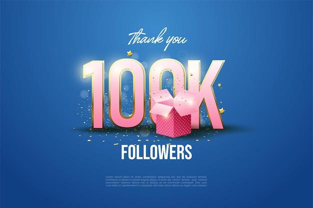 10 만 팔로워에게 감사합니다